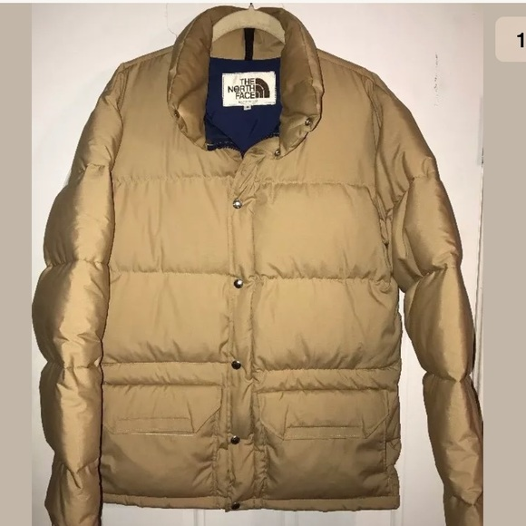 6930cf750 North Face vtg brown label man puffer Sz S coat